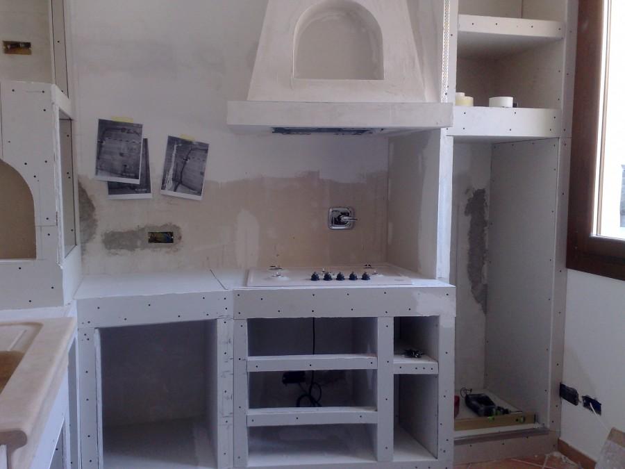 Cucina in muratura  FOTO